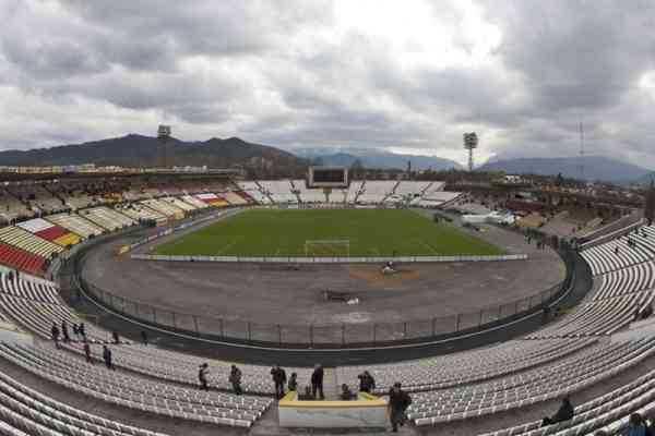 стадион во время реконструкции
